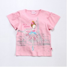 T-shirt With Frilled Sleeves Series