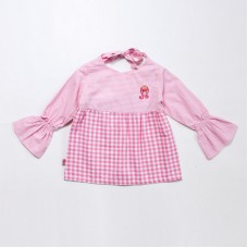 Gingham Check Blouse Series